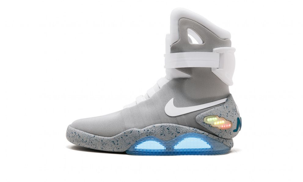 PHOTO: Shown in this undated photo is the Nike Mag, Back To The Future 2016 shoe.