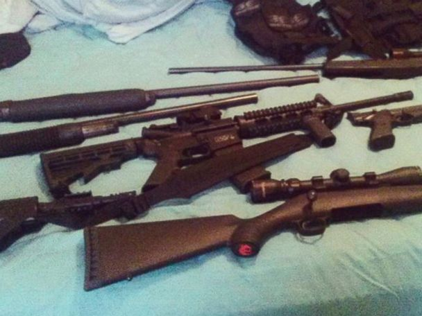 School shooting suspect had access to 10 firearms, including AK-47 variant