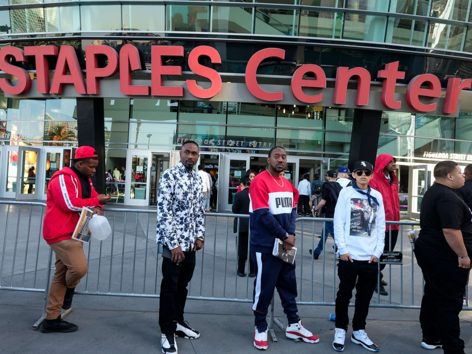 Thousands attend Nipsey Hussle's funeral at Staples Center in Los