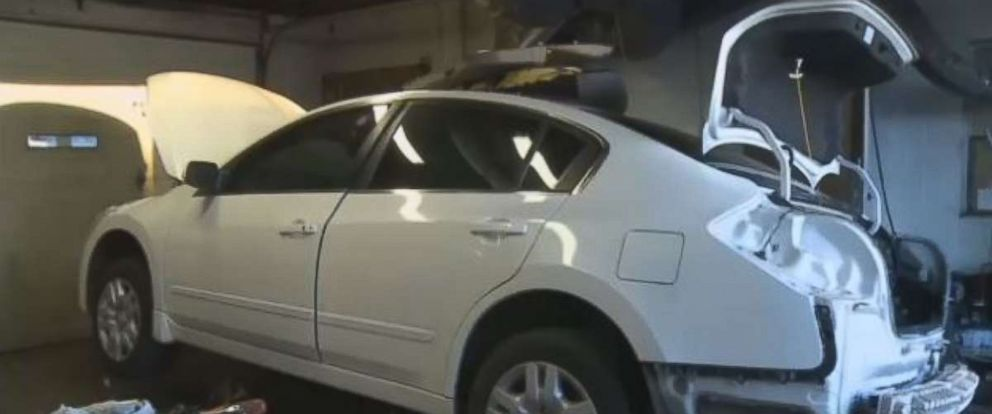 A man who purchased a Nissan Altima at auction found $300,000 to $400,000 worth of meth and heroin in the fuel tank.