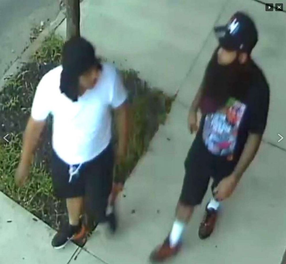 PHOTO: The Camden County Prosecutors Office is seeking the publics assistance in identifying two persons of interest who may have information concerning the shooting of two undercover Camden County Metro Detectives the night of August 7, 2018.  Photos released in manhunt for 2 men wanted in ambush attack on New Jersey police nj cop shooting ht jrl 180808 hpEmbed 13x12 992