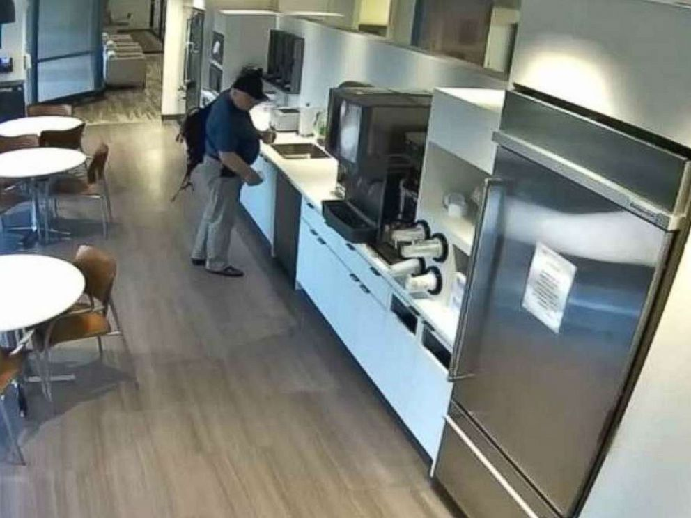 U.S. man accused of pouring ice on floor and faking fall