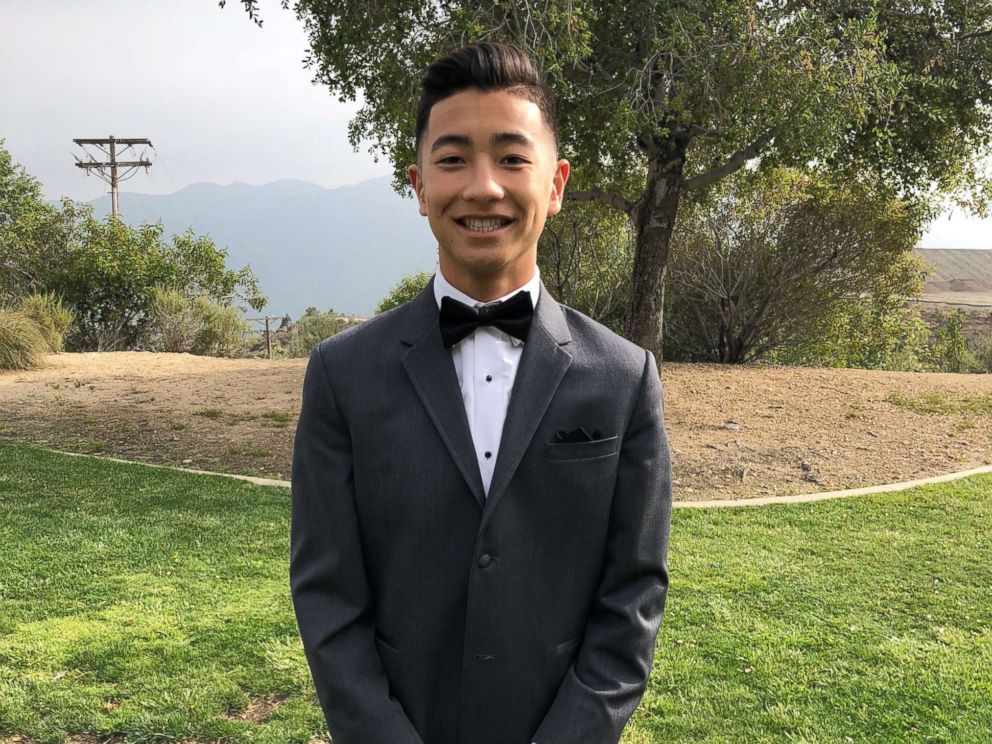 PHOTO: Noah Domingo, a member of the Sigma Alpha Epsilon fraternity at University of California, Irvine, died on Jan. 12, 2019.