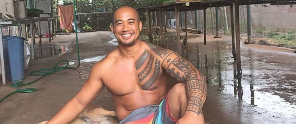 """PHOTO: Noah """"Kekai"""" Mina, 35, was found dead at the bottom of a 300-foot cliff in Maui, Hawaii, on Wednesday, May 29, 2019."""