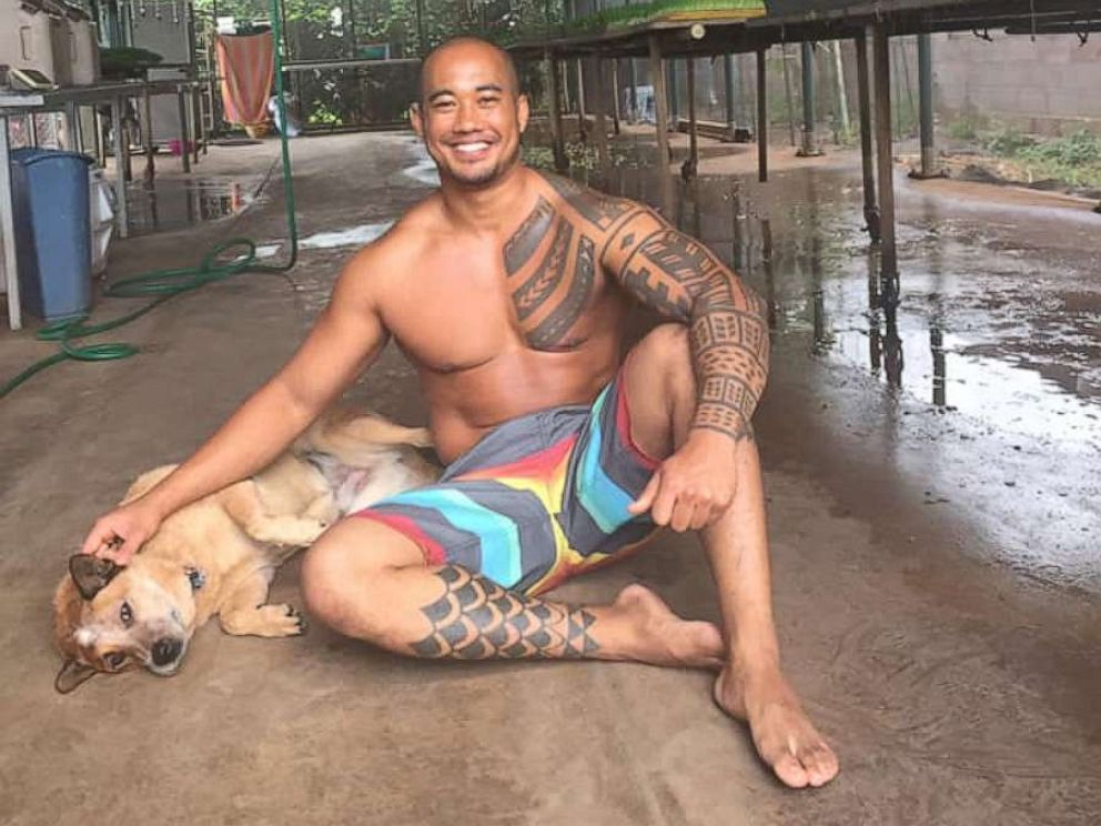 PHOTO: Noah Kekai Mina, 35, was found dead at the bottom of a 300-foot cliff in Maui, Hawaii, on Wednesday, May 29, 2019.