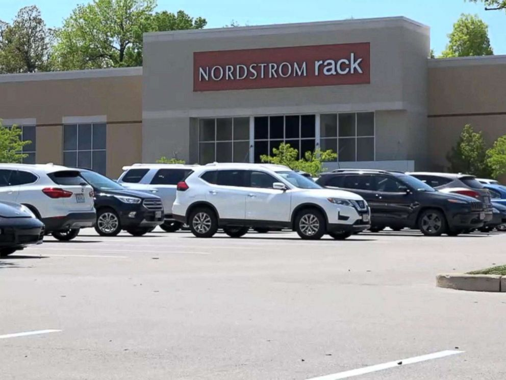 PHOTO: The exterior of the Brentwood Square Nordstrom Rack located in Brentwood, Missouri.