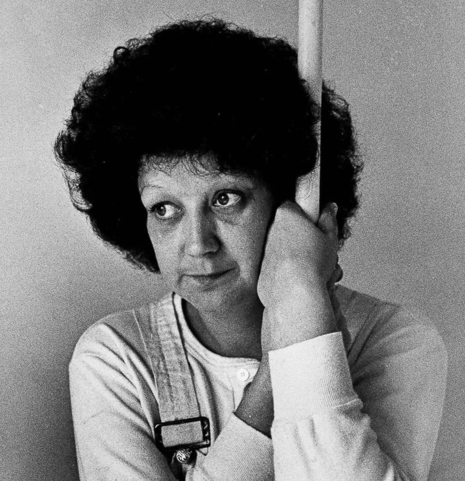 PHOTO: Norma McCorvey, 35, the Dallas mother whose desire to have an abortion was the basis for a landmark Supreme Court decision a decade ago, takes time from her job as a house painter to pose for a photograph in Terrell, Texas, Jan. 21, 1983.