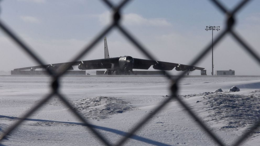 Minot Air Force base in North Dakota unfazed by arctic ...