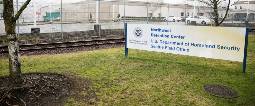 PHOTO: The U.S. Department of Homeland Security Northwest Detention Center is pictured in Tacoma, Wash., Feb. 26, 2017.