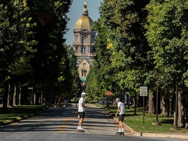 Notre Dame sounds alarm, limits gatherings after spike in COVID cases tied to parties