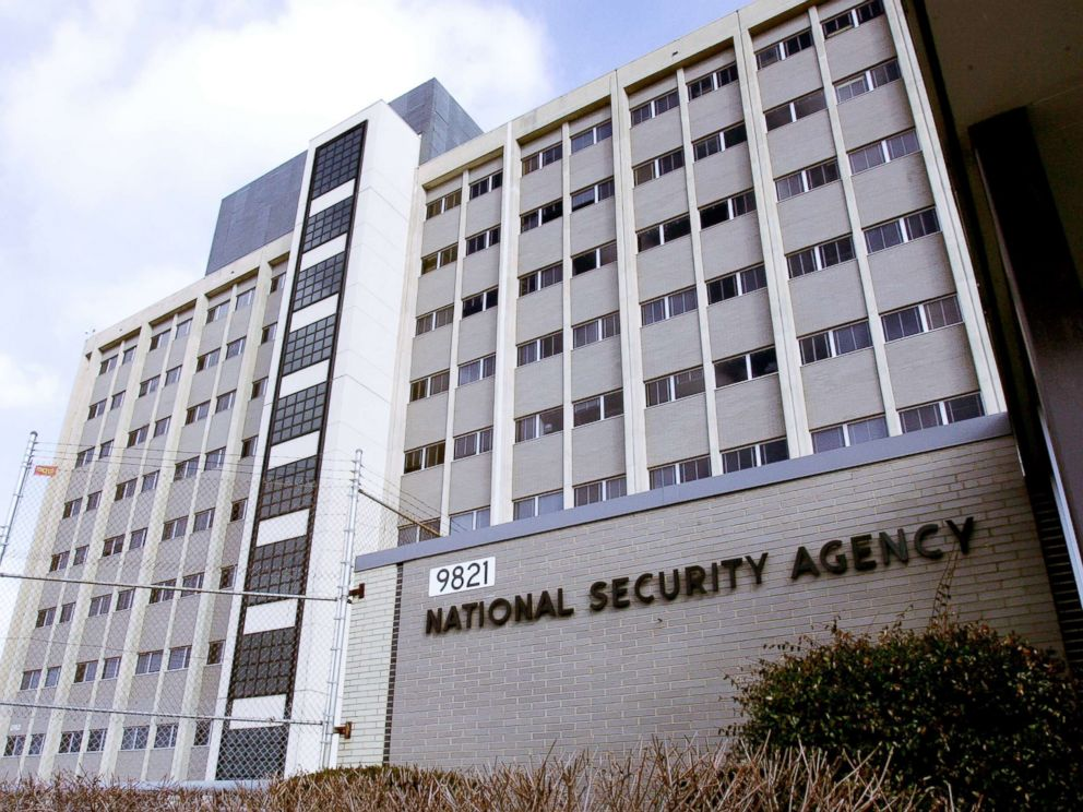 PHOTO: An external view of the National Security Agency building in the Washington suburb of Fort Meade, Md., is captured on Jan. 25, 2006.