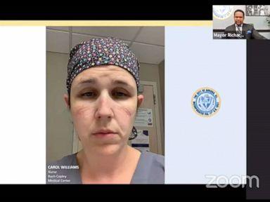 'Imagine watching a patient suffocating': ICU nurse's message