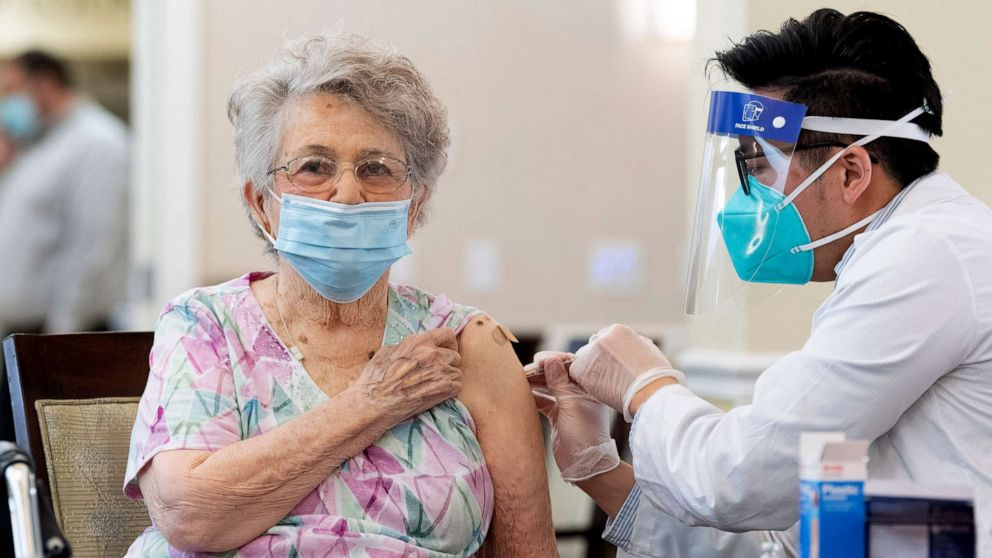 As more nursing homes receive COVID-19 vaccine, relatives demand greater access to residents