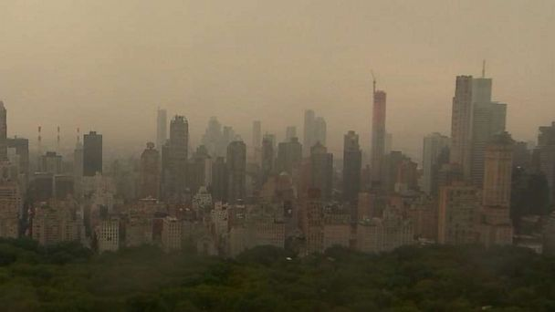 Power Outage Hits Large Portions Of Manhattan In New York City Abc News