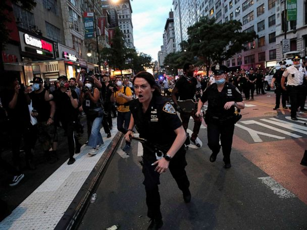 George Floyd protest live updates: NYC mayor addresses daughter's arrest