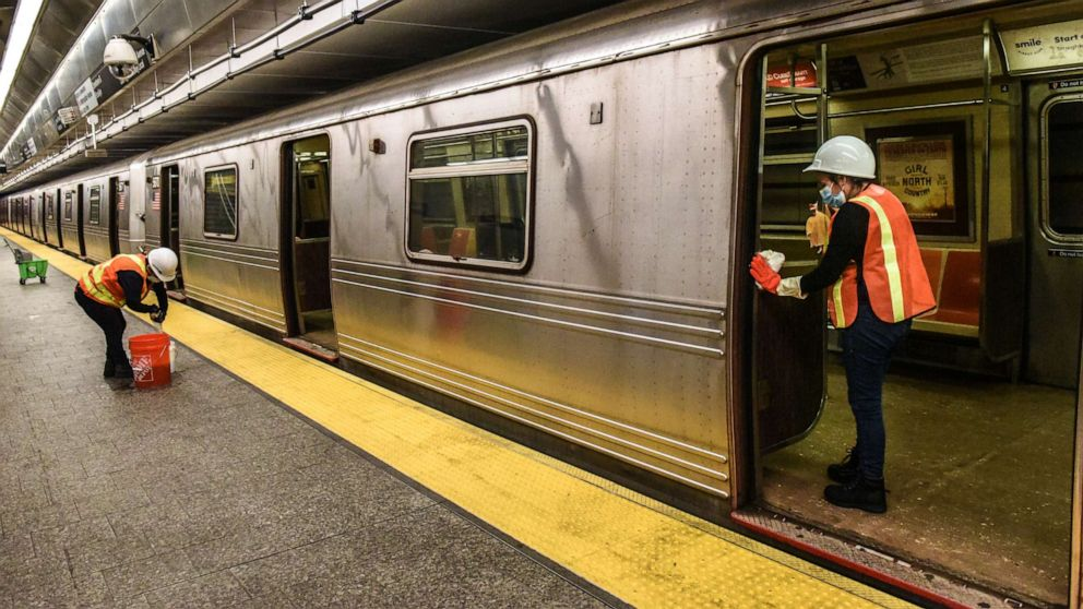 Historic New York City subway shutdown for cleaning deemed 'successful' thumbnail
