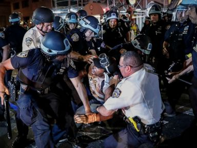 NYPD suspends cops filmed assaulting protesters