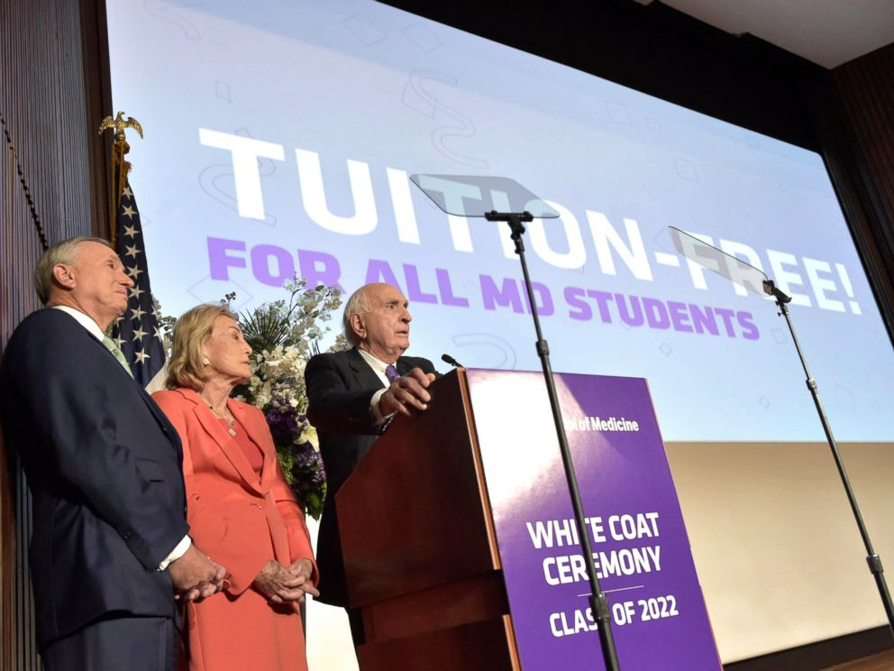 New York University to offer free tuition for all medical students