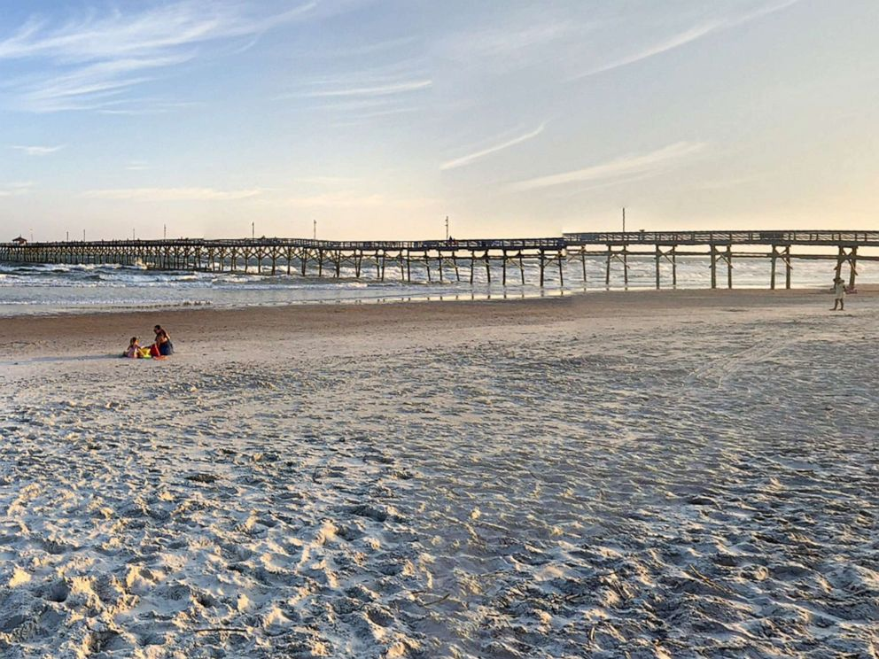 PHOTO: Oak Island near Raleigh, N.C., is pictured in this undated image from Google.