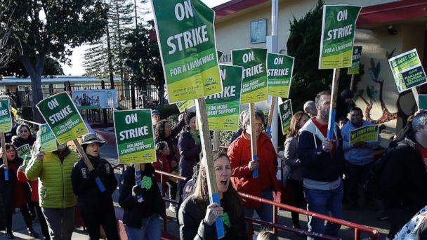 Teachers' strikes roll on as 3,000 more educators hit the ...