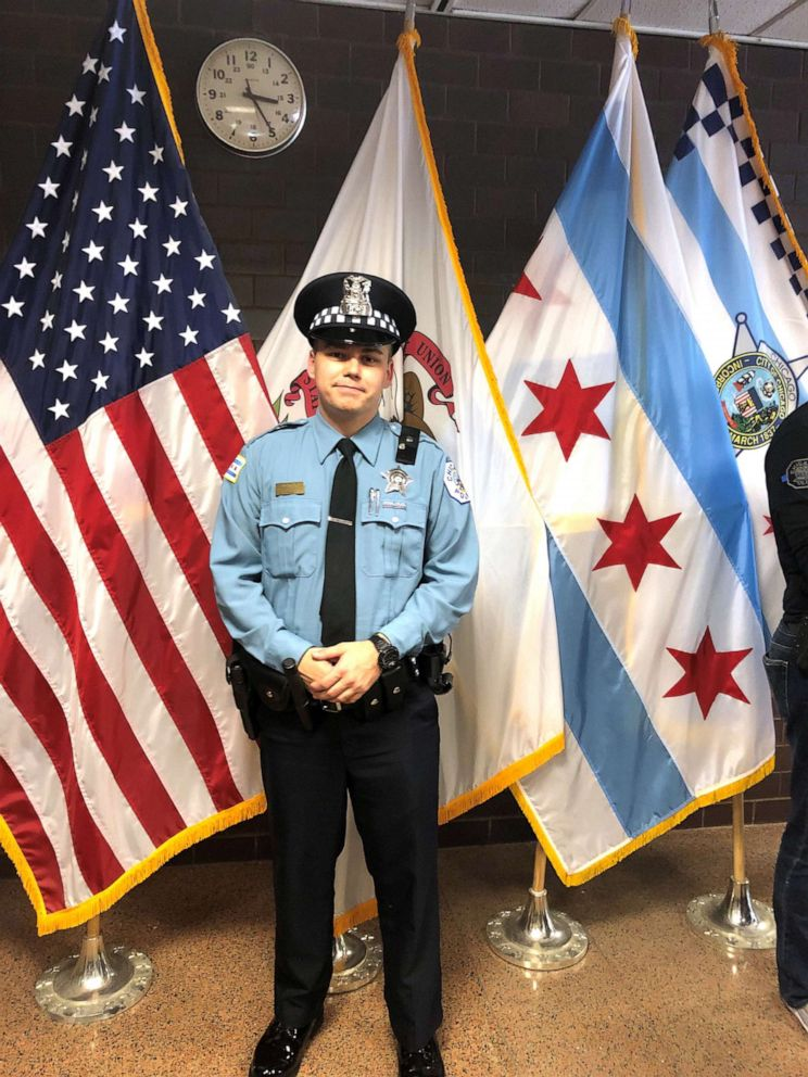 PHOTO: In this undated photo, Chicago police officer Brendan Lyons is shown.