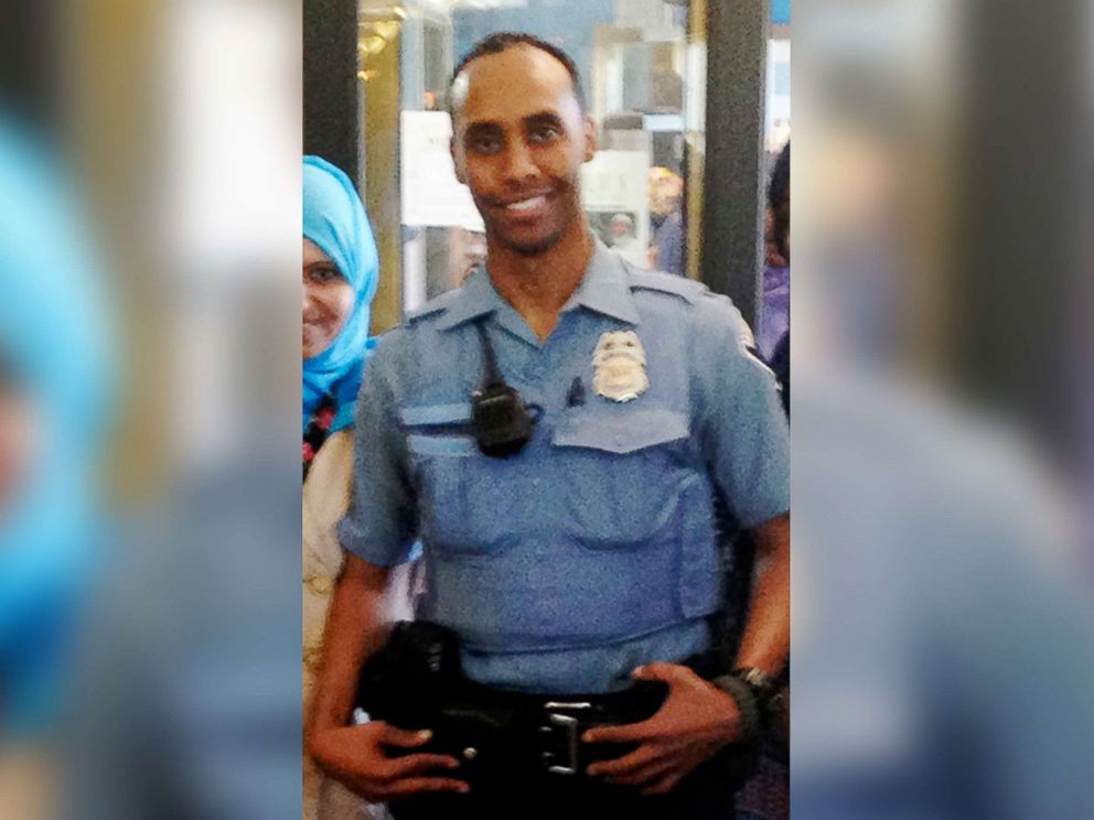 PHOTO: Police Officer Mohamed Noor poses for a photo at a community event welcoming him to the Minneapolis police force in a May 2016 handout image.