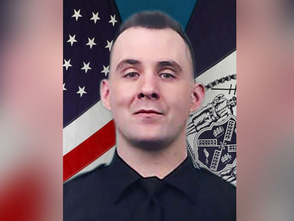 PHOTO: The NYPD just released a photo of Police Officer Brian Mulkeen, who was shot to death in the Bronx just after midnight on Sept. 29, 2019.