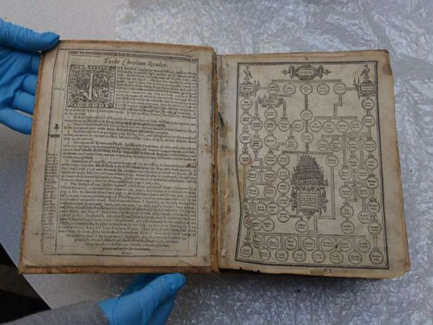 400-year-old Bible stolen from US library returns home