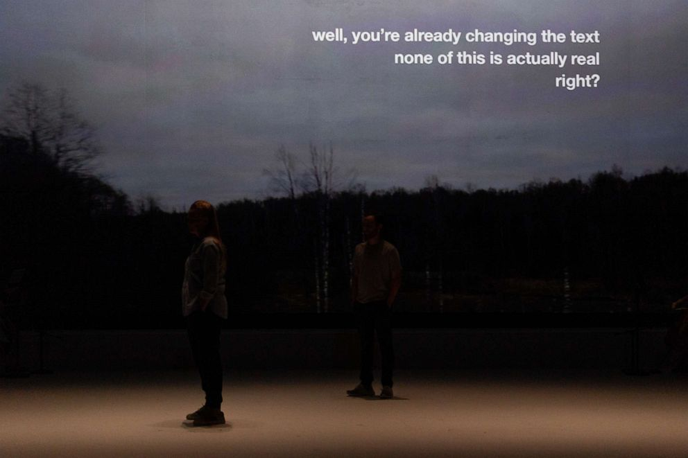 PHOTO: Denis & Katya uses verbatim text from the real-life event in the world premiere opera.