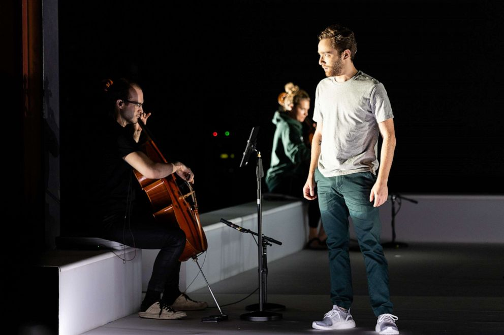 PHOTO: Theo Hoffman stars in the world premiere of Denis & Katya.