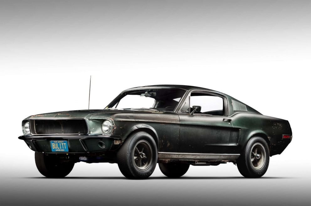 PHOTO: Robert Kiernan purchased the Highland Green 68 Mustang GT fastback in 1974 for $6,000.