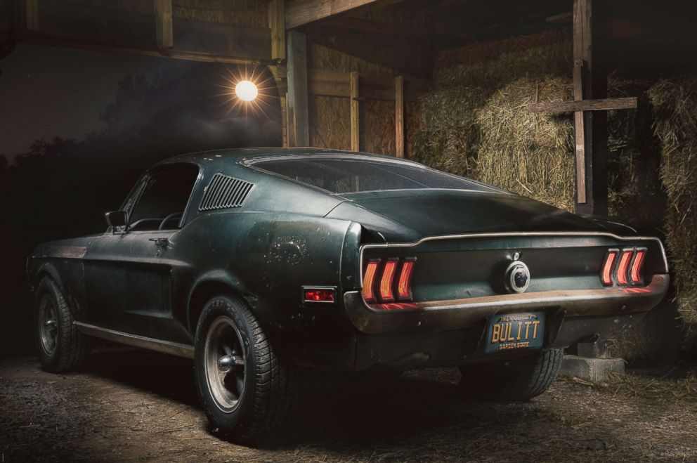 PHOTO: The Kiernans kept the Mustang in a Kentucky barn, where it had stayed unknown for decades.