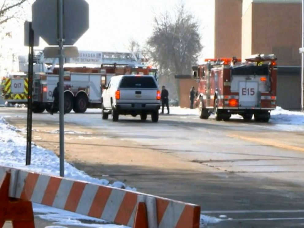 Student, officer injured in 2nd Wisconsin high school shooting in 2 days