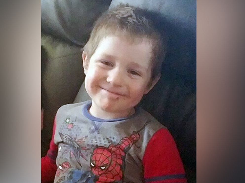 PHOTO: An undated photo of Owen Jones, 4, who was swept away in a creek in Delphi, Ind.on May 23, 2019.