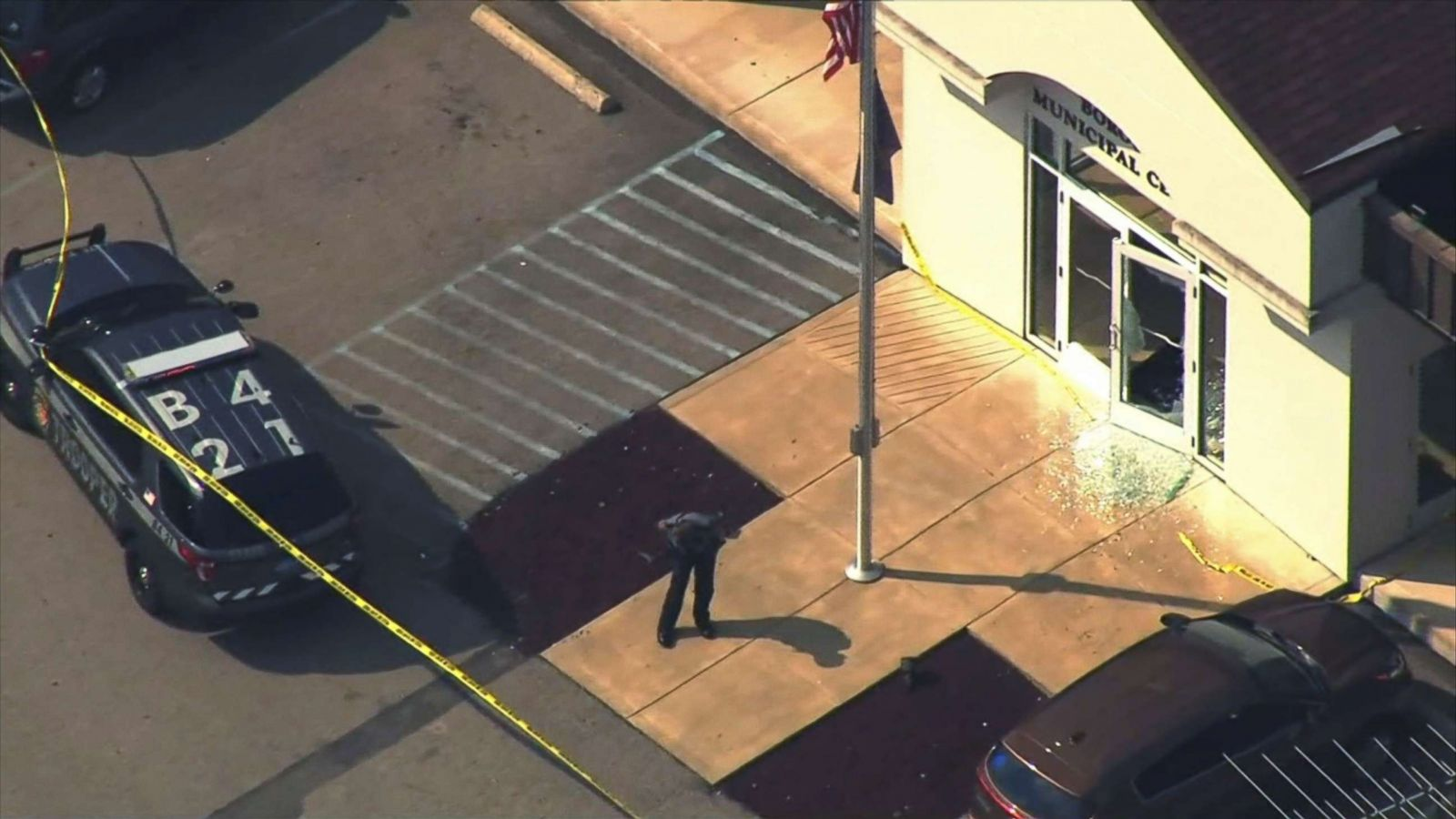 Gunman in courthouse shooting that injured 4 was scheduled