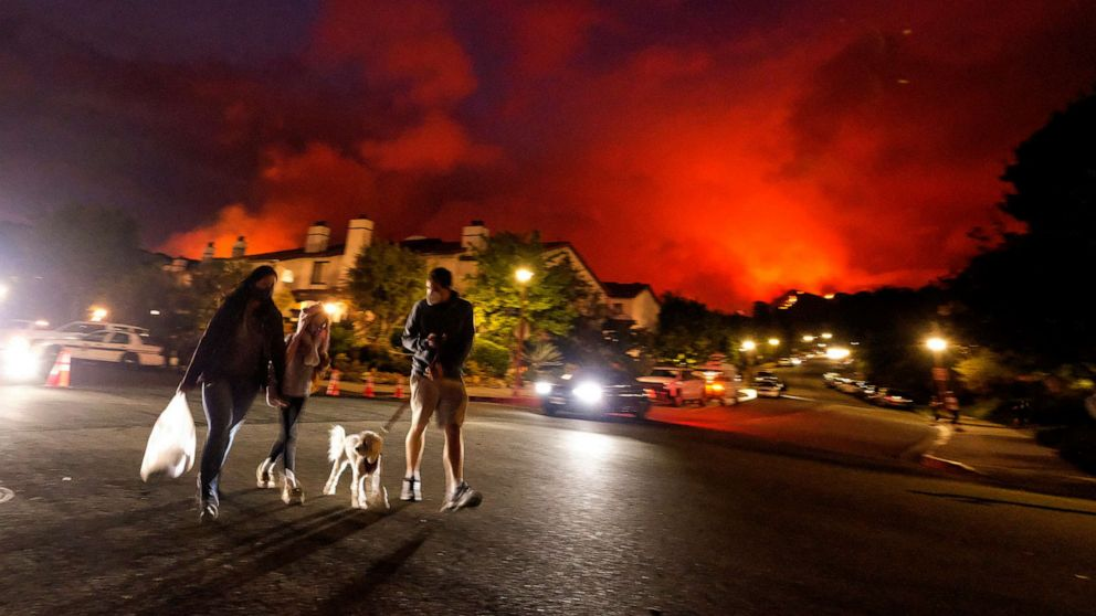 Climate change may be causing an early start to fire season in the West, experts say