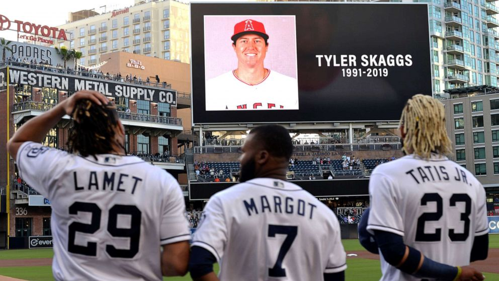 Baseball player Tyler Skaggs dead at 27 thumbnail