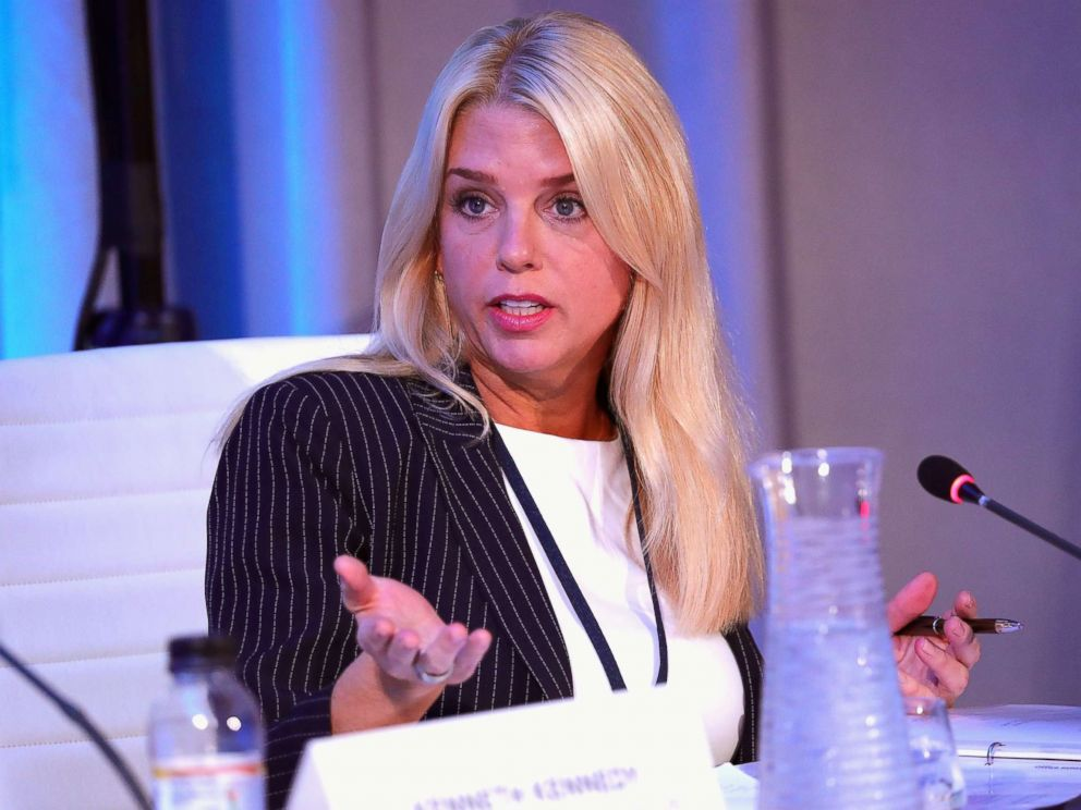 PHOTO: Pam Bondi, Attorney General, State of Florida, speaks at The 2017 Concordia Annual Summit at Grand Hyatt New York, Sept. 19, 2017, in New York.