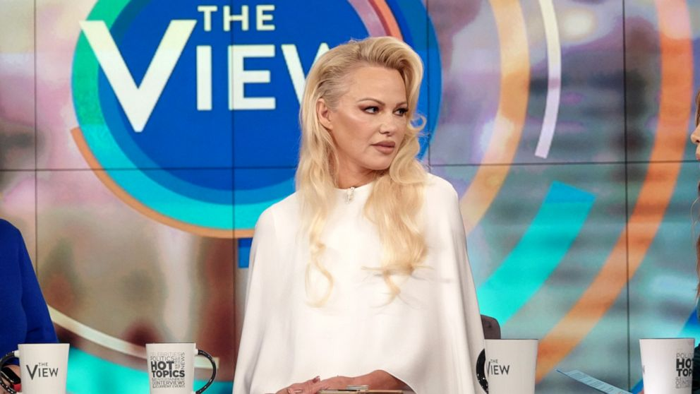 Pamela Anderson says Julian Assange's 'health is really