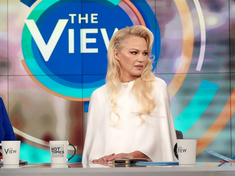Pamela Anderson in fiery on-air TV clash with Senator's daughter