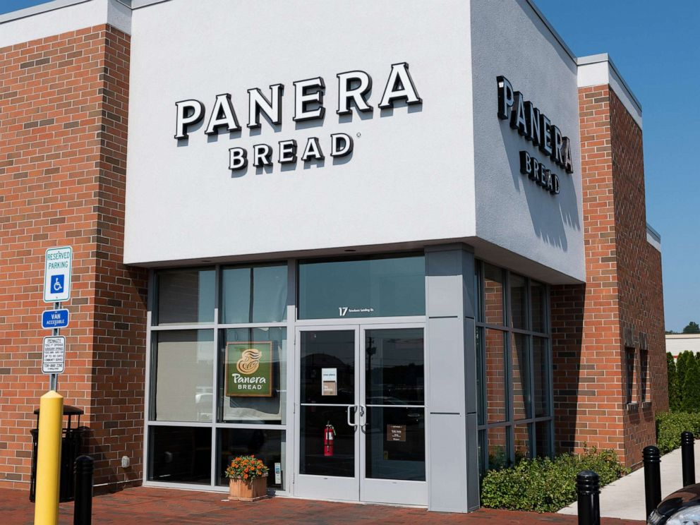PHOTO: In this Aug. 5, 2018, file photo, a Panera Bread store in Teterboro, N.J., is shown.