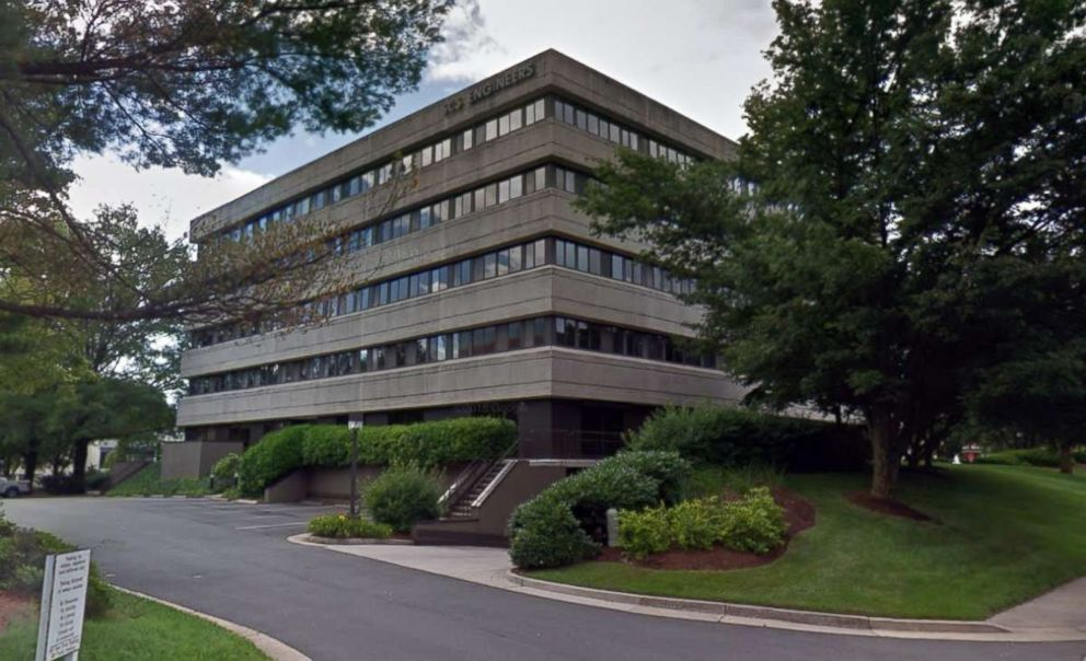 PHOTO: The office building at the Reston, Va. address for Parabon NanoLabs is pictured in a Google Street View image in 2018.