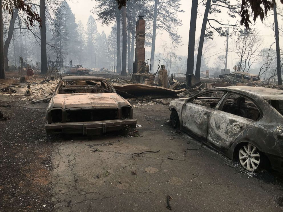 When Paradise, California, resident Jeff Hill returned to his childhood home, it was gone, he told ABC News.