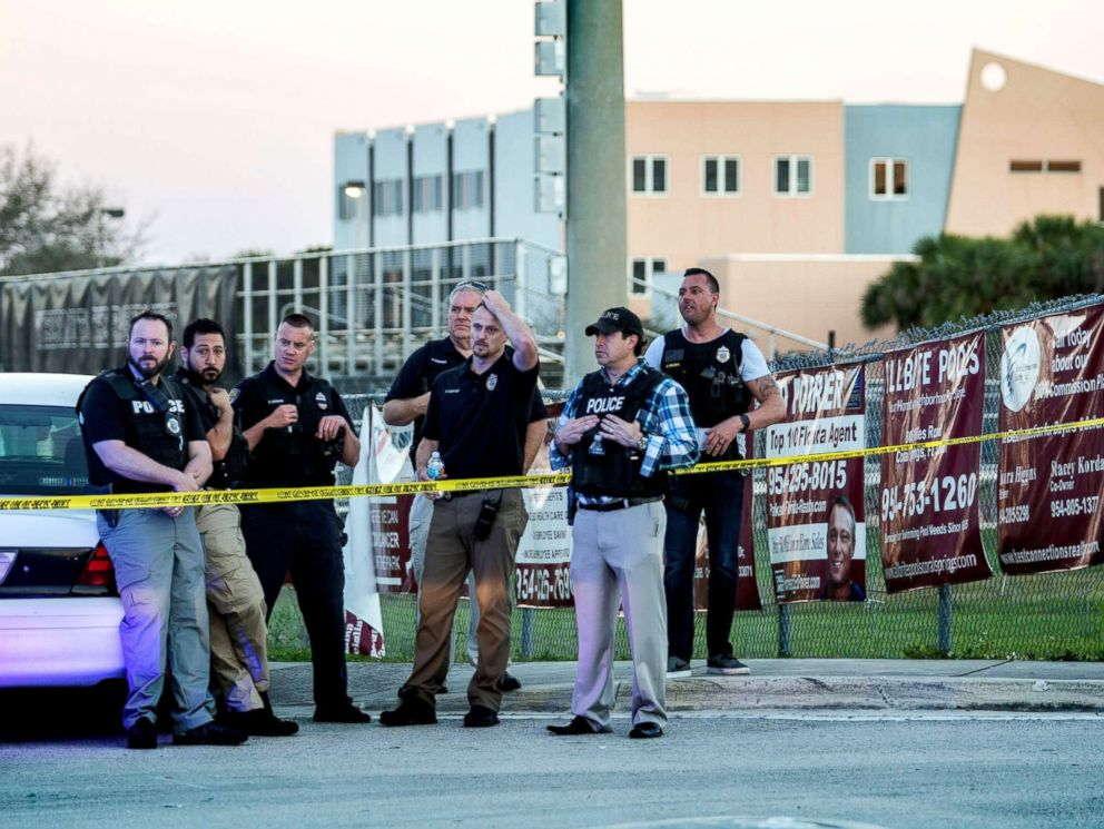 Sheriff Visits Teen Shot Five Times In Florida School Shooting