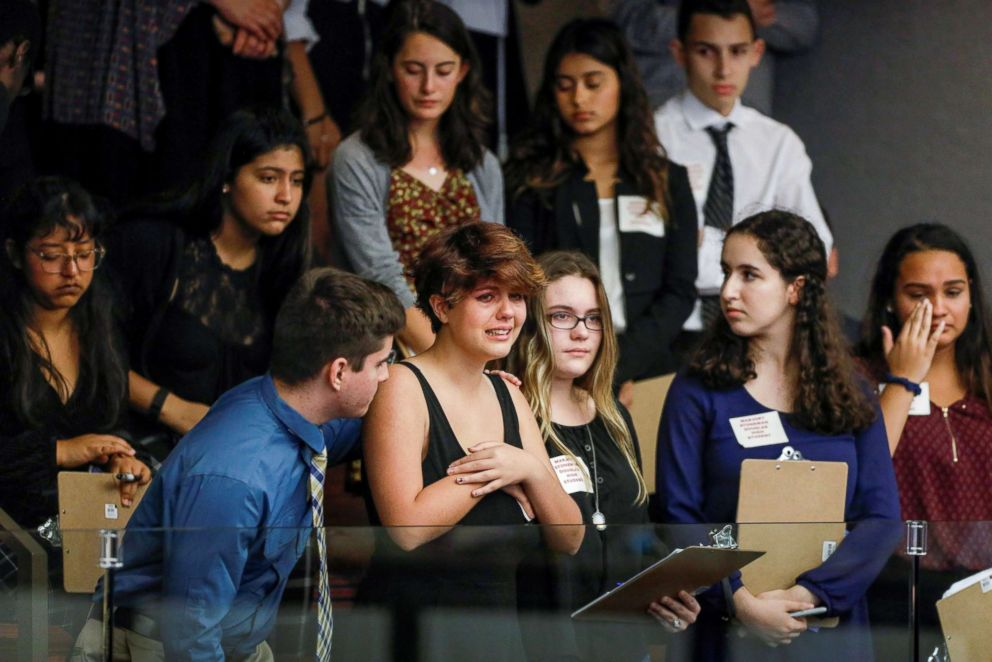 Students Press Florida Lawmakers On Gun Control