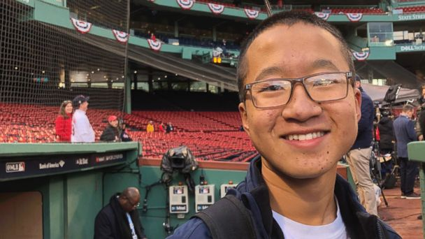 Disabled teen honored at World Series says he found inspiration in Jackie Robinson story