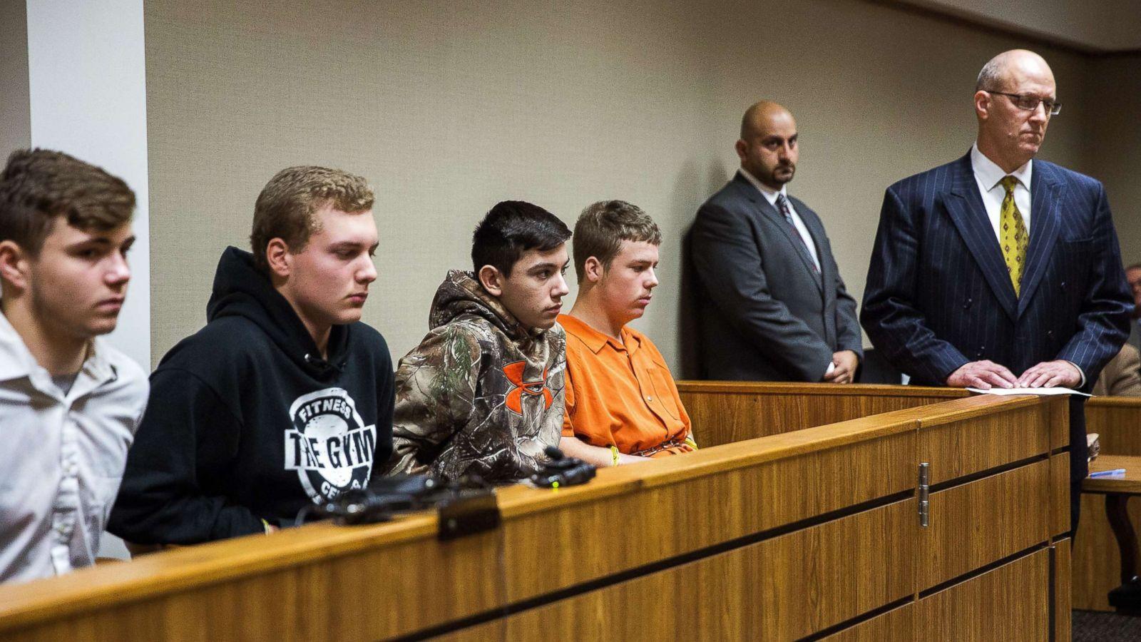 4 of 5 teens in deadly michigan rock throwing case accept plea deals