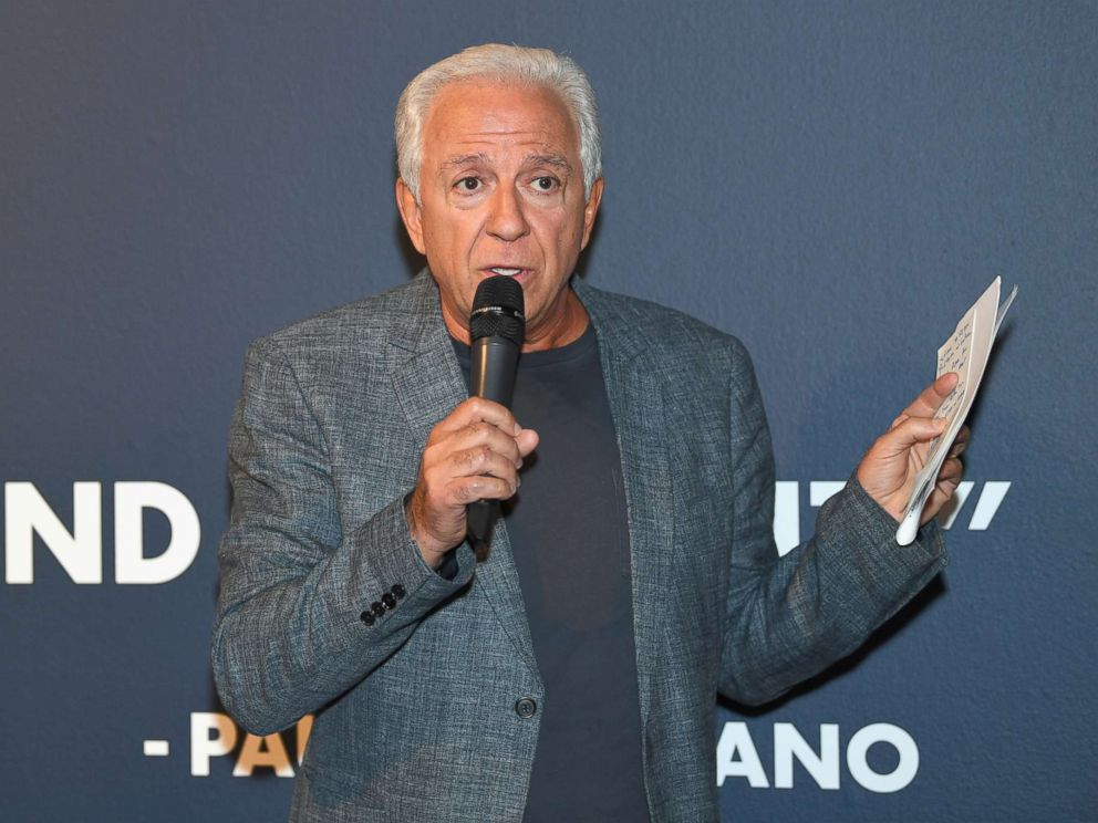 PHOTO: Paul Marciano speaks at GUESS Celebrates 35 Years with Opening of Exhibition at the FIDM Museum & Galleries at FIDM Museum & Galleries on the Park, June 5, 2017 in Los Angeles.