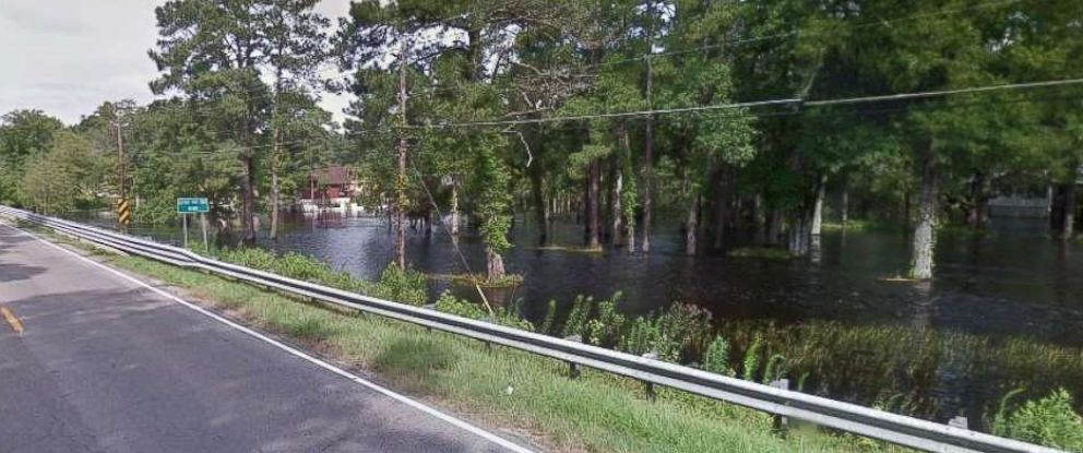 Two mental health patients drowned when the Little Pee Dee River near Mullins, S.C., overflowed its banks and the van they were traveling in flooded on Tuesday, Sept. 18, 2018.