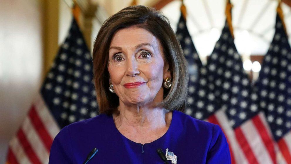 'ここでは':Pelosiを開始impeachment問い合わせのトランプは、はいませんが、上記の法